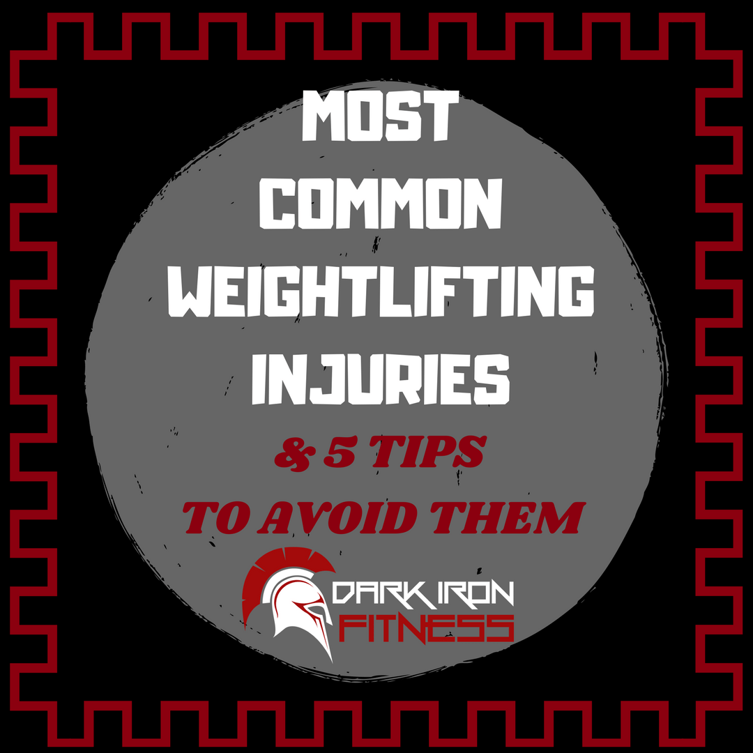 Most Common Weightlifting Injuries