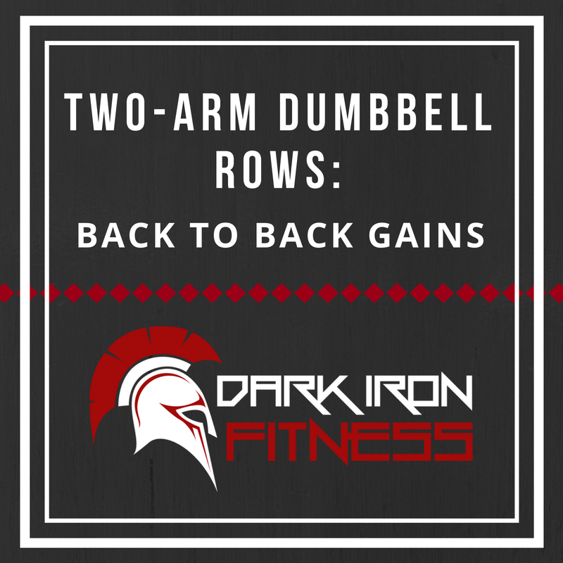 Two-Arm Dumbbell Rows Back to Back Gains
