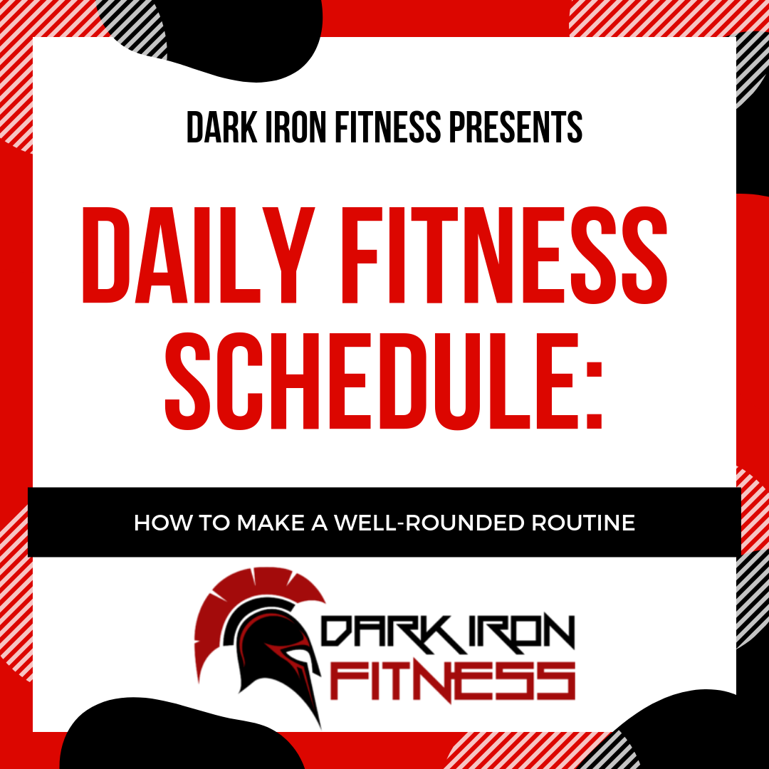 Daily Fitness Schedule: How to Make a Well-Rounded Routine